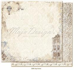Maja Design Miles Apart skräppipaperi Stay home