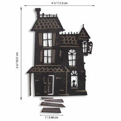 Sizzix Tim Holtz Thinlits stanssisetti Haunted