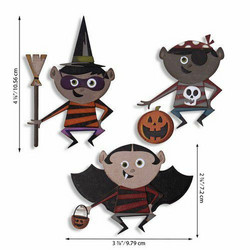 Sizzix Tim Holtz Thinlits stanssisetti Trick or Treater