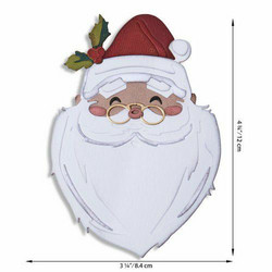 Sizzix Tim Holtz Thinlits stanssisetti Santa's Wish, Colorize