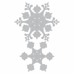Sizzix Tim Holtz Thinlits stanssisetti Stunning Snowflake