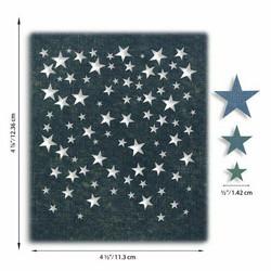 Sizzix Tim Holtz Thinlits stanssisetti Falling Stars