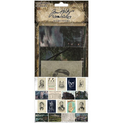 Tim Holtz Idea-Ology Vellum Haunts, 18 kpl