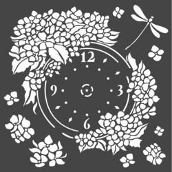 Stamperia sapluuna Clock