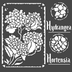 Stamperia sapluuna Hortensia Frames