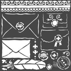 Stamperia sapluuna Letters