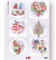 Marianne Design korttikuvat Christmas Wishes Gnomes