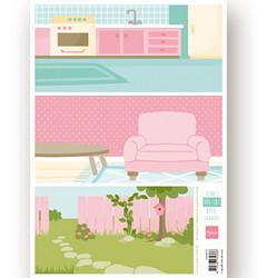 Marianne Design korttikuvat Eline's Dog - Cat Backgrounds