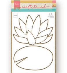 Marianne Design sapluuna Water Lily