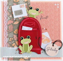 Marianne Design stanssisetti Frogs