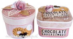 Marianne Design stanssisetti Round Box & Flower