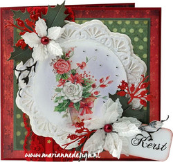 Marianne Design stanssisetti Holly Leaves
