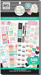 Mambi Happy Memory Keeping Value Pack -tarrapakkaus Happy & Positive Quotes