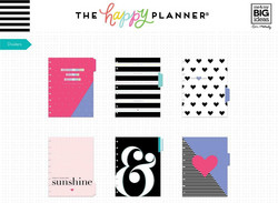 Mambi Happy Planner laajennuspakkaus Dashboard