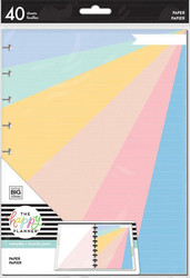 Mambi Classic Filler Paper paperipakkaus, Pastel Color Rainbow