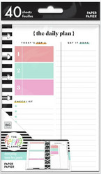 Mambi Mini Filler Paper -paperipakkaus Daily Schedule + Notes