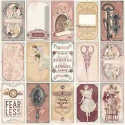 BoBunny skräppipaperi Charmed Mirror
