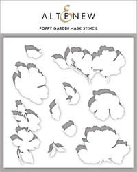 Altenew sapluuna- ja maskisetti Poppy Garden