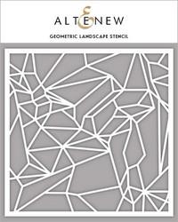 Altenew sapluuna Geometric Landscape