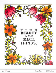 Altenew Whimsical Flowers & Quotes -leimasinsetti