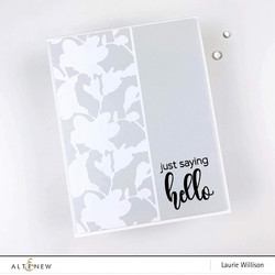Altenew teippi Bouquet Die Cut