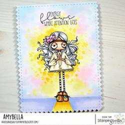Stamping Bella Oddball Hippie -leimasin