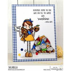 Stamping Bella Oddball Snow White -leimasinsetti