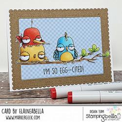 Stamping Bella Oddball Bird -leimasinsetti