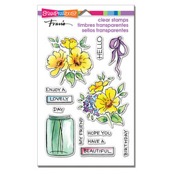Stampendous leimasinsetti Lovely Flowers