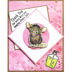 Stampendous leimasinsetti Masked Mice