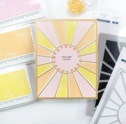 Pinkfresh Studio stanssi Pop-Out Sunburst