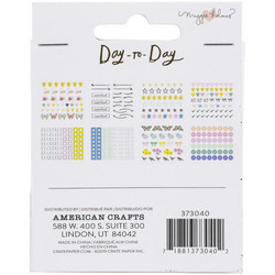 Crate Paper Maggie Holmes Day-To-Day Mini Sticker Book 3 -tarrakirja