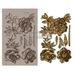 Prima Re-Design Decor Mould -muotti Wilderness Rose