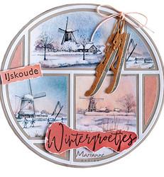 Marianne Design korttikuvat Windmills