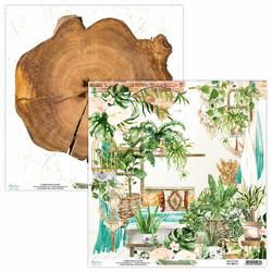 Mintay skräppipaperi Urban Jungle 01
