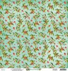 Mintay skräppipaperi Merry & Bright 04