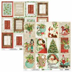 Mintay skräppipaperi Merry & Bright 06