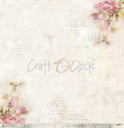 Craft O'clock skräppipaperi Hummingbird Song 03