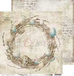 Craft O'clock skräppipaperi Hummingbird Song 05