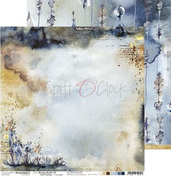 Craft O'clock skräppipaperi Mixed Media, Beauty Restless 02