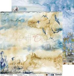 Craft O'clock skräppipaperi Mixed Media, Beauty Restless 03
