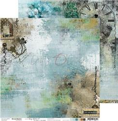 Craft O'clock skräppipaperi Mixed Media, Hazy Street 01