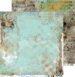 Craft O'clock skräppipaperi Mixed Media, Hazy Street 02