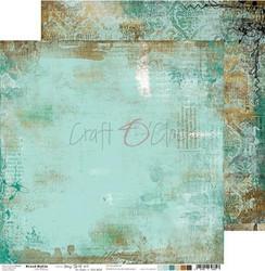 Craft O'clock skräppipaperi Mixed Media, Hazy Street 03