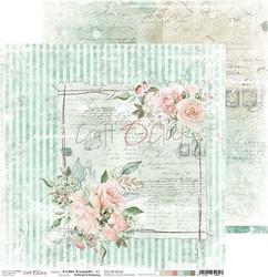 Craft O'clock skräppipaperi Hello Beauty 03