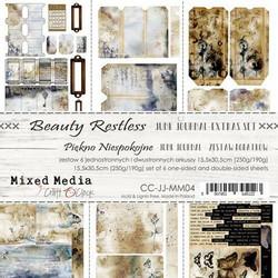 Craft O'clock paperipakkaus Beauty Restless Junk Journal Extras