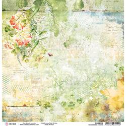 Ciao Bella Microcosmos -skräppipaperi Daisies