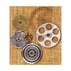 Finnabair Vintage Trinkets -metallikoristeet Washers 2