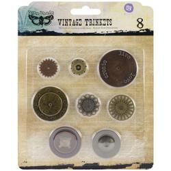 Finnabair Vintage Trinkets -metallikoristeet Washers 1