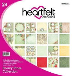 Heartfelt Creations paperipakkaus Snowy Pines
